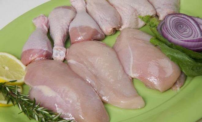 Куриные голени и филе