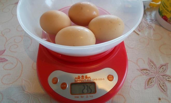 Яйца загорской лососевой несушки